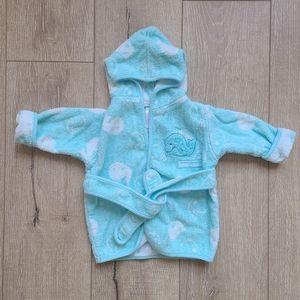 (3/$15) Koala Kids Blue Whale Baby Robe